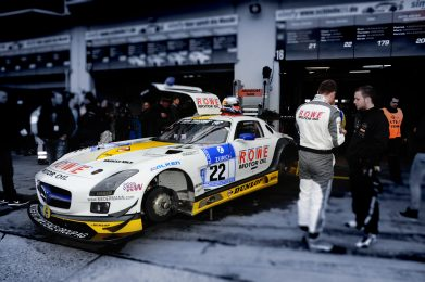 ROWE Racing; Mercedes-Benz SLS AMG GT3