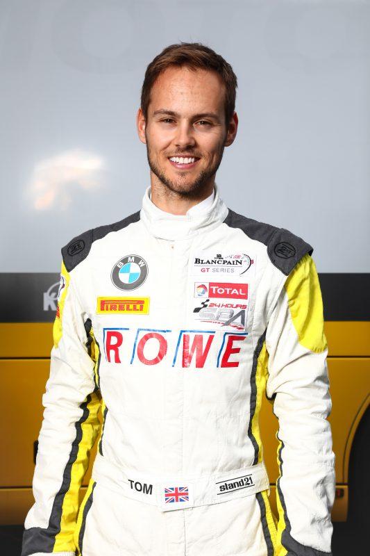 Tom Blomqvist 24h SpaTest 17